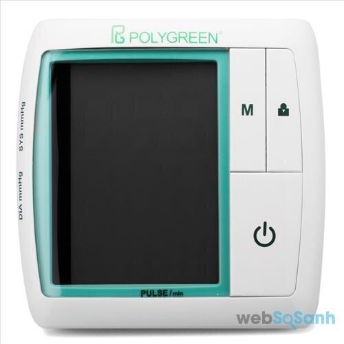 Cách sử dụng máy đo huyết áp Polygreen