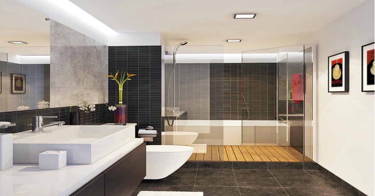 bài trí nội thất phòng tắm đẹp