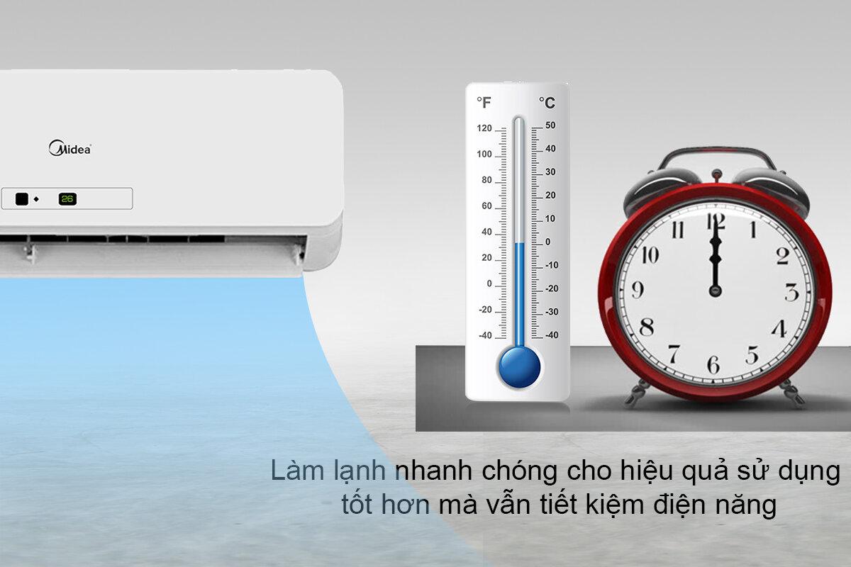 Máy lạnh Midea tiết kiệm điện