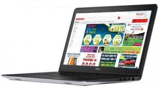 Laptop Dell Inspiron N5547 (Giá từ: 12.420.000đ)