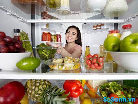 Sắp xếp thực phẩm một cách khoa học