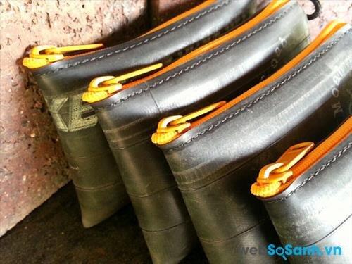 Dùng túi cao su để chứa lốp/săm là một sai lầm nghiêm trọng