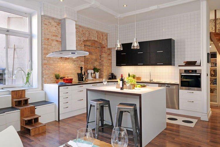 Căn bếp hiện đại cho không gian ngôi nhà sang trọng