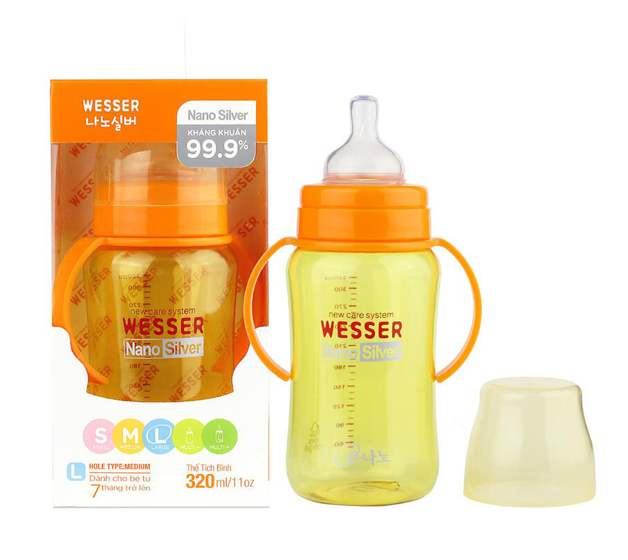 Sữa tắm gội Wesser Nano Silver