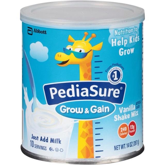 Sữa bột Pediasure Grow& Gain 379 g