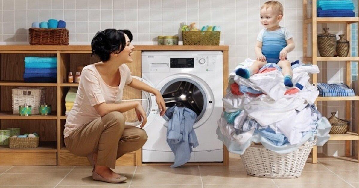Máy giặt inverter Panasonic giặt được khối lượng quần áo lớn