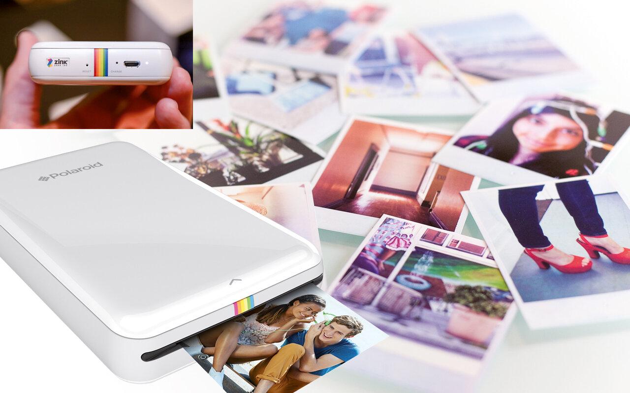 Chụp hình xong có ngay ảnh với máy in dành cho điện thoại cực hữu ích và tiện lợi