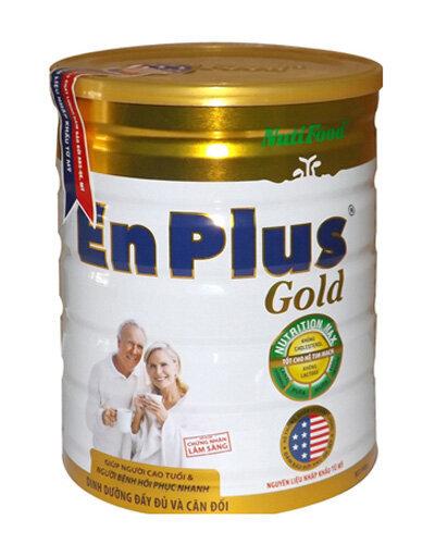 Sữa bột Nutifood Enplus Gold - hộp 400g (dành cho người suy nhược cơ thể)