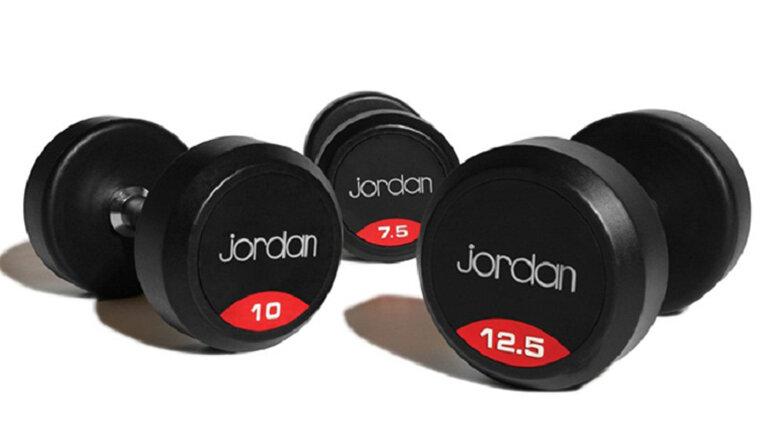 Tạ tay Jordan có nhiều mức trọng lượng khác nhau