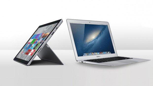 Surface Pro 3 vs MacBook Air.