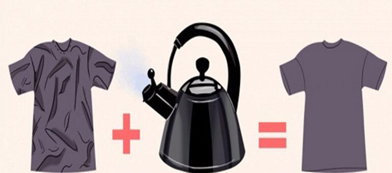 Sử dụng một ấm đun nước là một ý kiến hay
