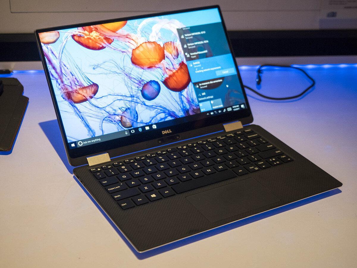 Thiết kế laptop 2 trong 1 ấn tượng