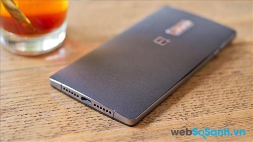 Smartphone Oneplus 2 có cổng USB Type C