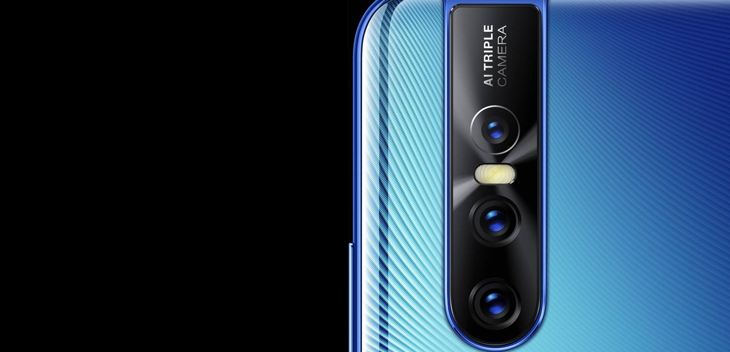 Vivo V15 Pro trang bị 3 camera với độ phân giải lên đến 48MP