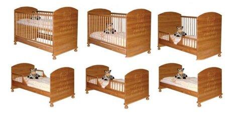 Giường cũi đa năng Teddy 9 trong 1