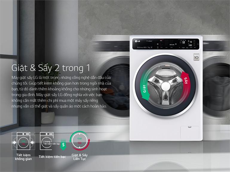 Máy giặt LG FC1409D4E 9kg