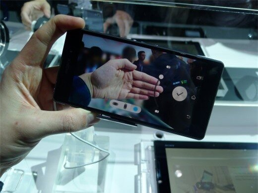 P1050067 520x390 Sony Xperia Z2 hands on: A promising rival to the Samsung Galaxy S5