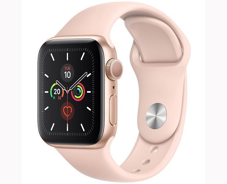 đồng hồ thông minh nữ màu hồng