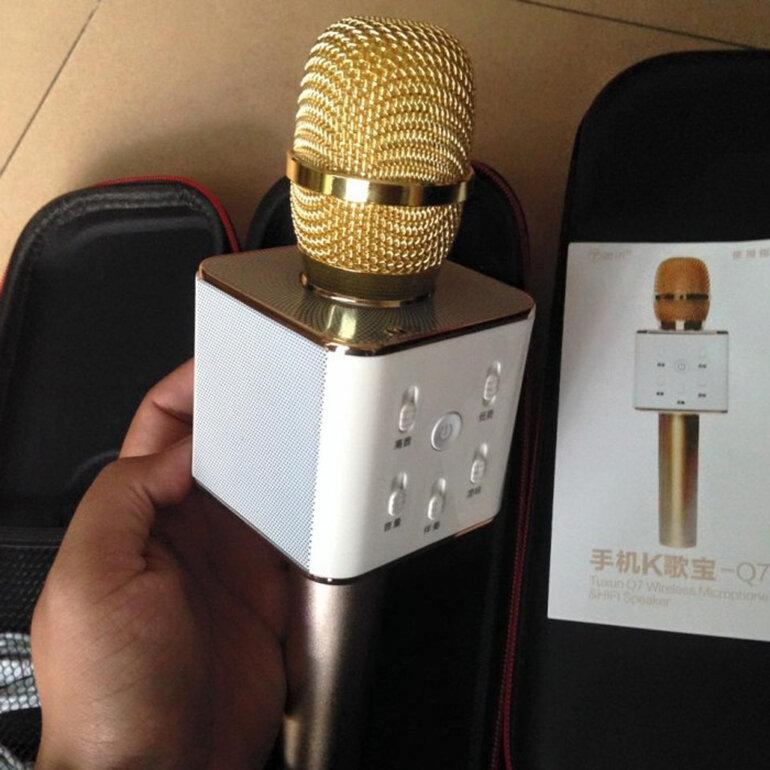 Micro karaoke bluetooth Tuxun được sử dụng rộng rãi