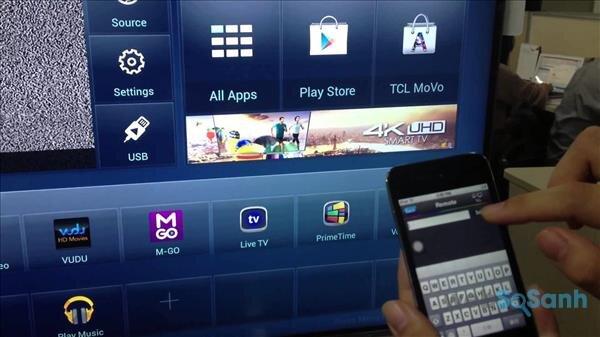 Tính năng kết nối TCL nScreen, Media Sharing