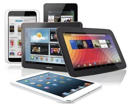 Lần đầu tiên từ khi iPad xuất hiện, Android đã vượt mặt iOS trên thị trường máy tính bảng