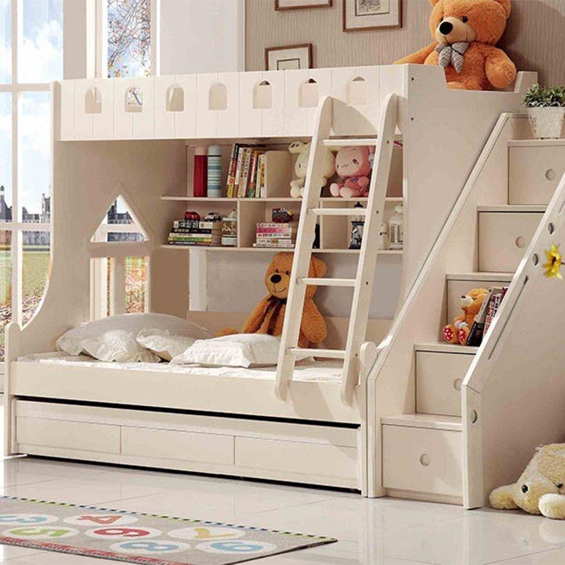 Mẫu giường này được thiết kế với gam màu kem làm chủ đạo sẽ dễ dàng hơn cho bạn trong việc trang trí ngôi nhà của mình
