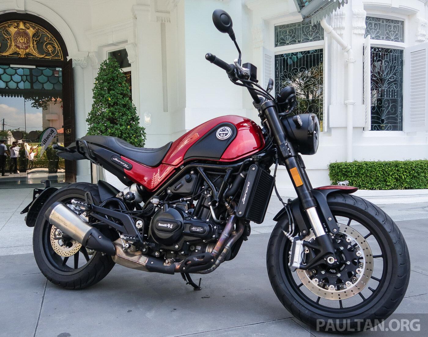 Vẻ đẹp cao cấp và sang trọng của BENELLI LEONCINO 500cc