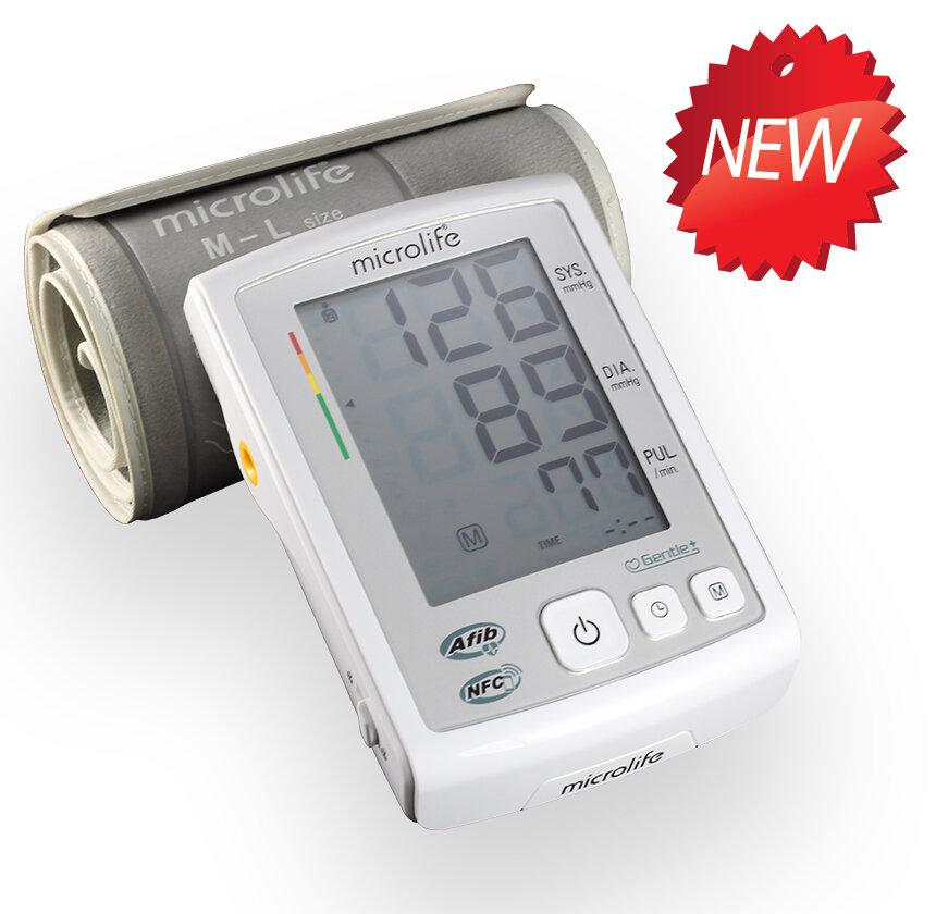 Dùng máy đo huyết áp nhỏ gọn nhưng chính xác A5 NFC hãng Microlife