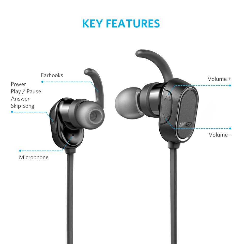Tai nghe Bluetooth Anker SoundBuds Sport A3233