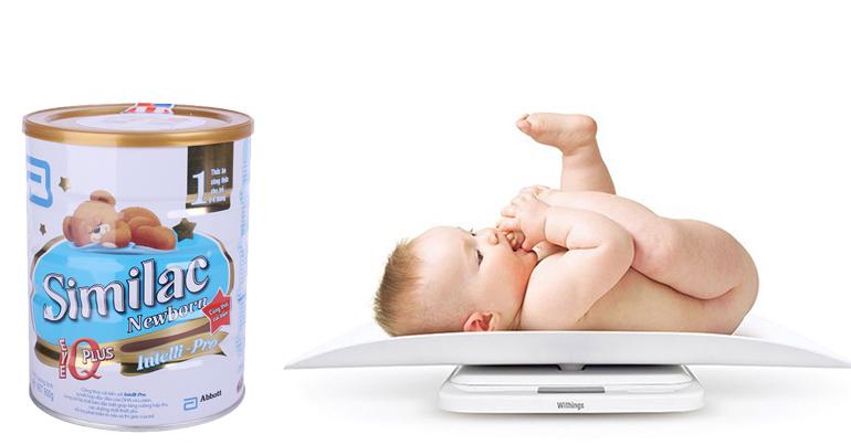 Sữa similac có giúp trẻ tăng cân tốt không ?