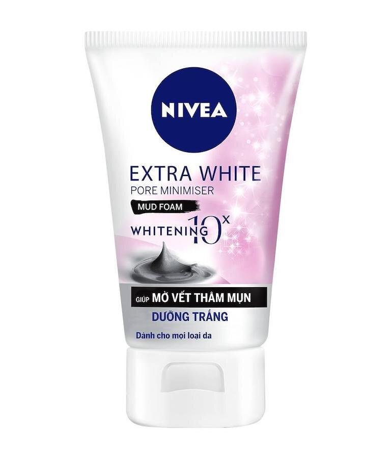 Sữa rửa mặt giá rẻ Nivea White Pore Minimiser Foam