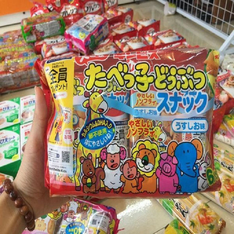 Bánh ăn dặm của Nhật được nhiều mẹ lựa chọn vì chất lượng và an toàn