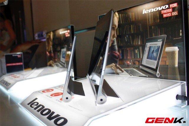 Trên tay bộ đôi Yoga Tablet và Yoga 2 Pro từ Lenovo