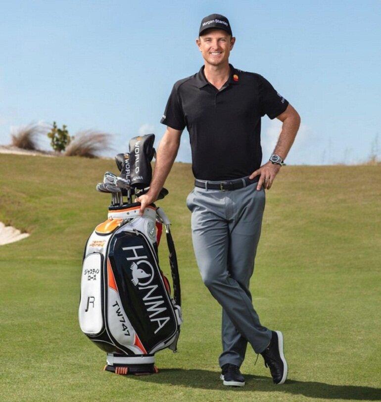 Túi gậy golf Honma được các golfer nổi tiếng ưa chuộng