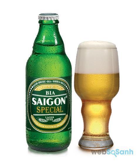 Giá bia Sài Gòn Xanh chai
