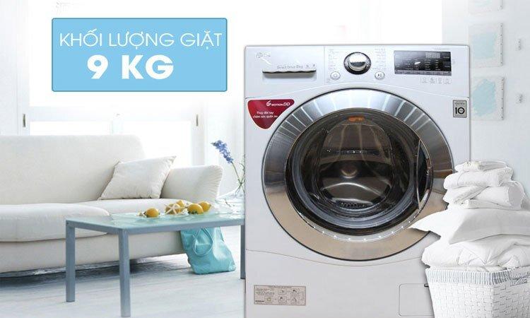 Máy giặt LG FC1409S2W 9kg giá bao nhiêu tiền