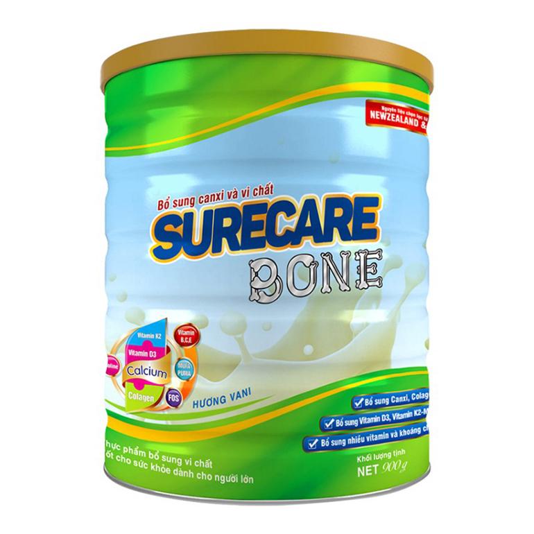 SURECARE Bone dưỡng chất bổ xương cho vóng dáng khỏe mạnh