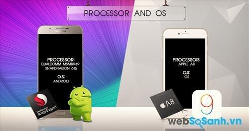 iPhone 6 vân hành mượt mà hơn dù cấu hình không quá cao do phần mềm và phất cứng đều do Apple phát triển