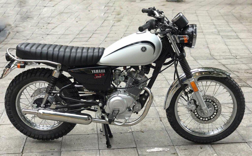 Kiểu dáng gọn gàng và mạnh mẽ của Yamaha YB125 SP