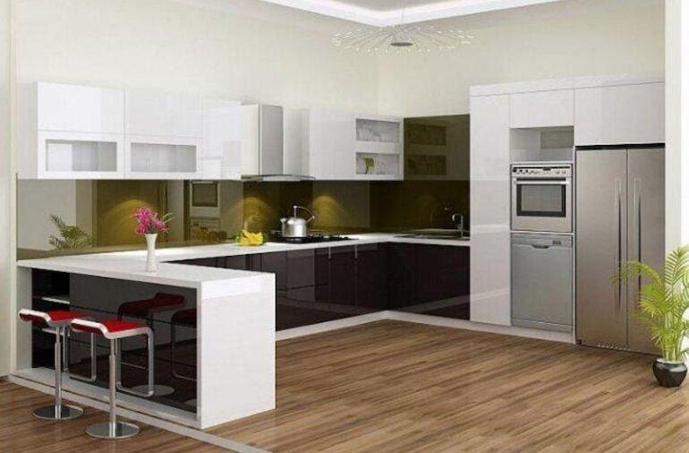 Lựa chọn nội thất nhà bếp thông minh hợp lý