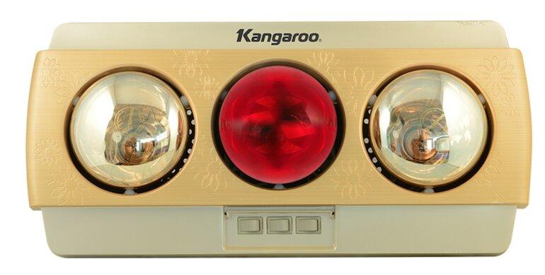 Lưu ý đến tuổi thọ của đèn sưởi Kangaroo 3 bóng