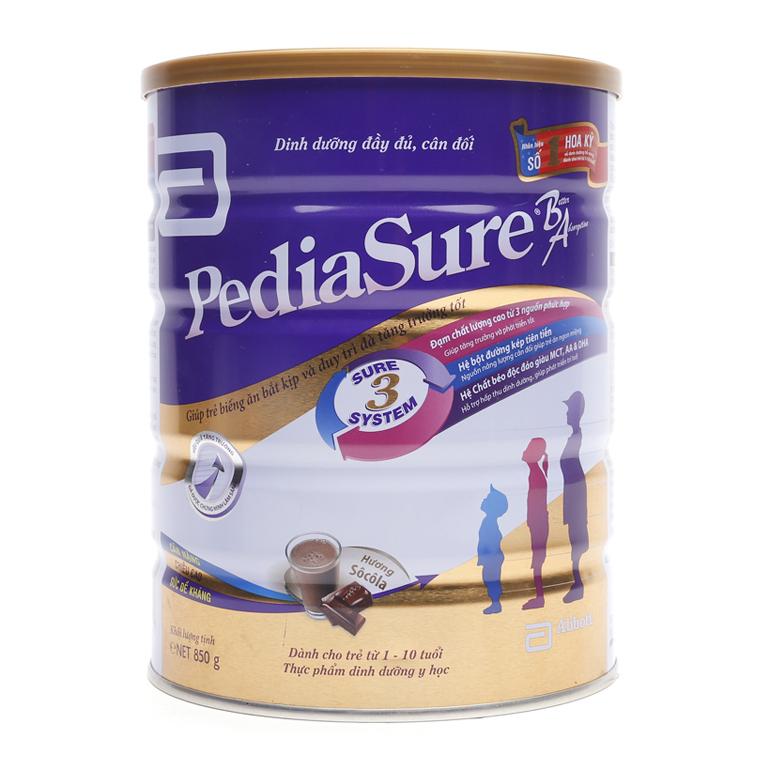 Sữa bột công thức Pediasure