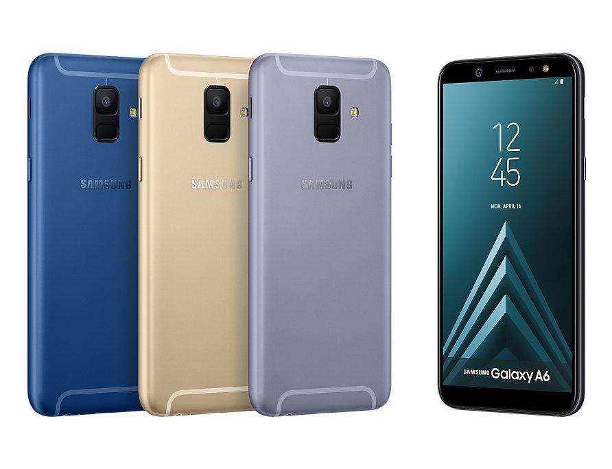 Đánh giá samsung Galaxy A6 2018