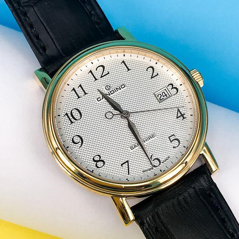 Chiếc đồng hồ đến từ thương hiệu Candino của Thụy Sỹ