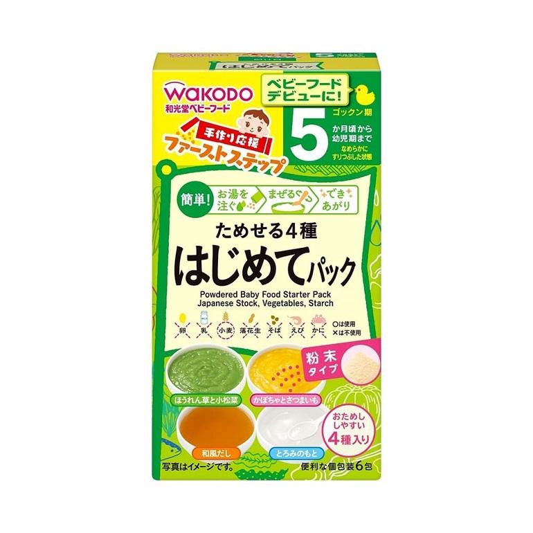 Bột ăn dặm Wakodo là thương hiệu số 1 đến từ Nhật Bản