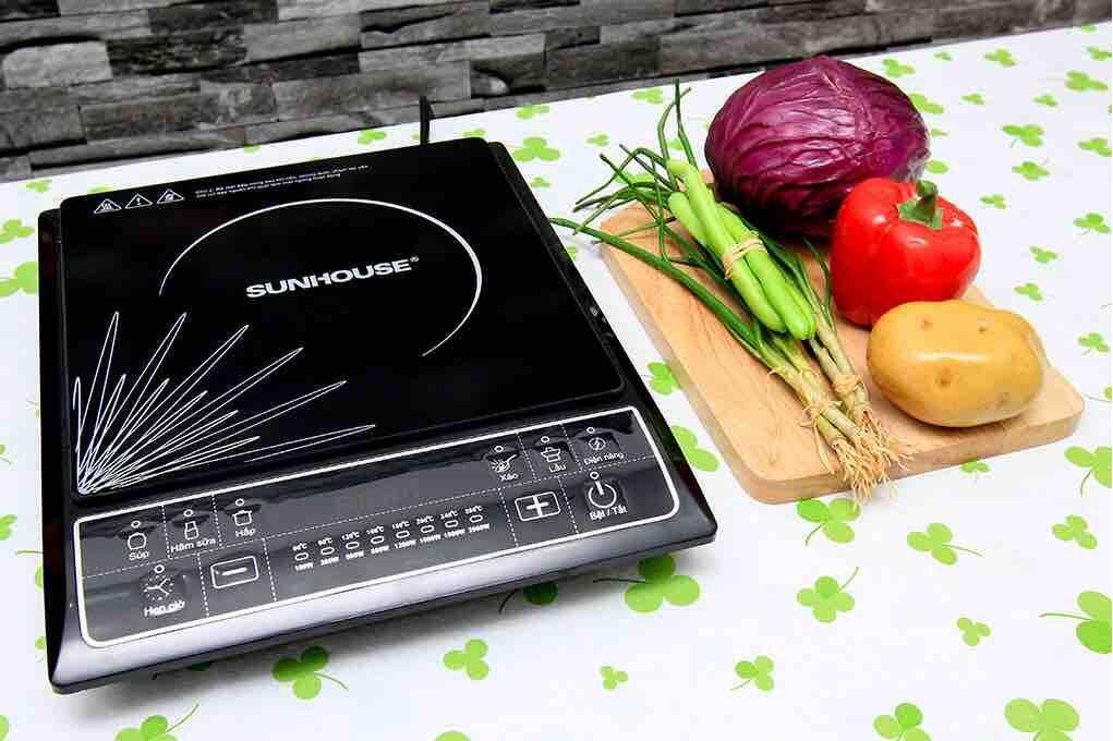 Bếp từ của Sunhouse được người tiêu dùng đánh giá cao về chất lượng