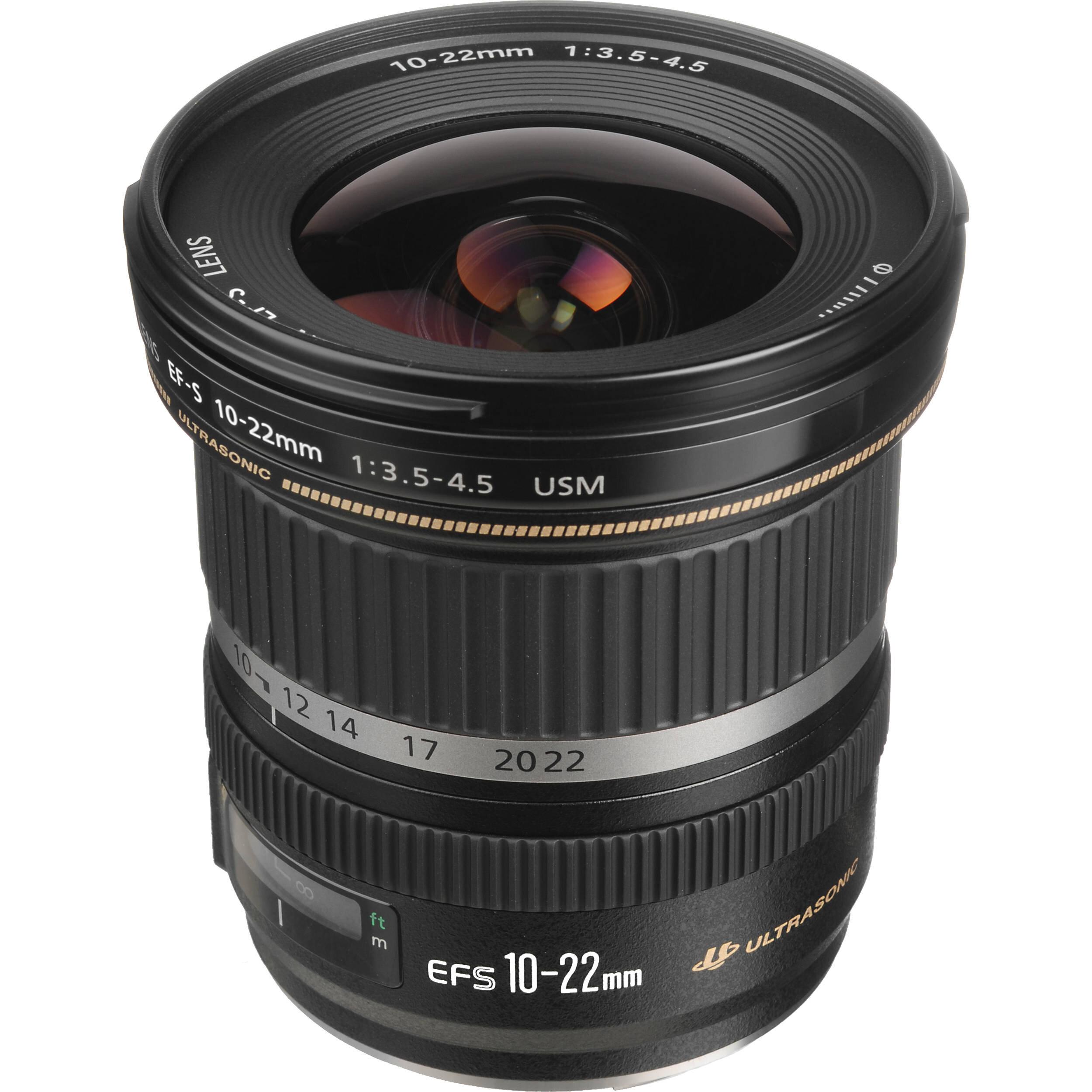 Lens góc rộng của Canon