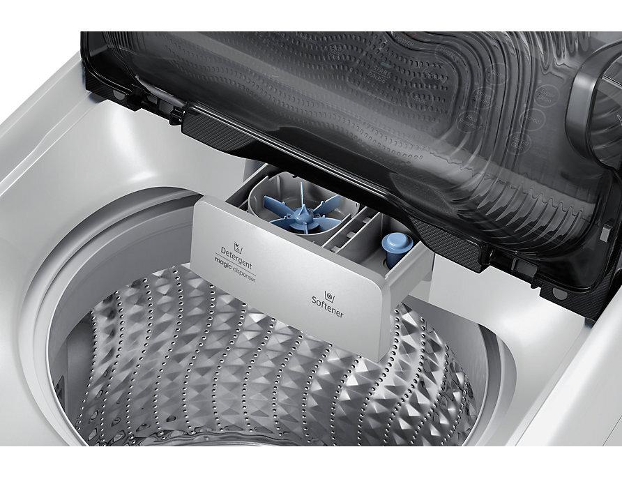 Tích hợp cánh quạt giúp bột giặt được hòa tan nhanh chóng