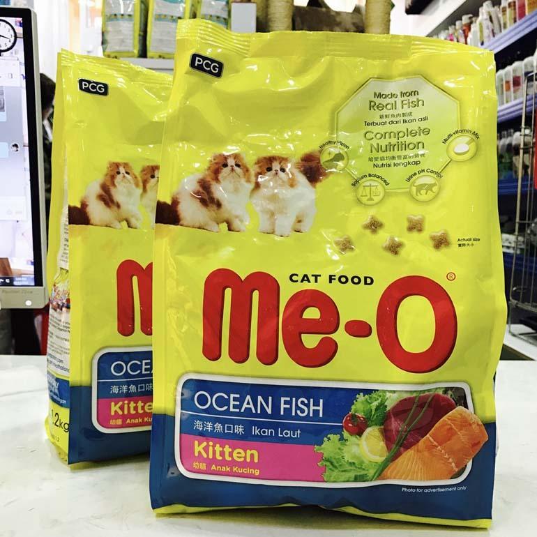 thức ăn cho mèo con Me-O