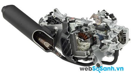 Cùng được trang bị động cơ eSP với dung tích xi lanh 125cc
